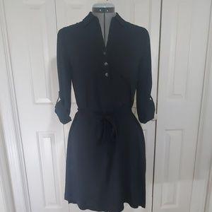SONOMA Black Shirt Dress Size S